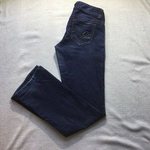 Guess blue bootcut/ flare jeans size 29